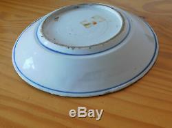 C. 17ème Antiquité Assiette En Porcelaine De Ming De Chine Bleu Et Blanc De Chine