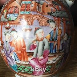Cafetière En Porcelaine D \ 'exportation Du Xviiie Siècle, Chine 1750, H 9 Pouces