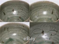 Ccvp42 Chinois Cinq Dynasties Song Du Nord Dynast Antique Yue Ware Tasse Céladon
