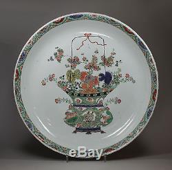 Chargeur En Porcelaine De Chine Famille Verte Antique, Kangxi (1662-1722)
