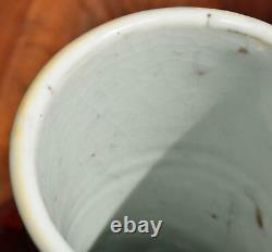 Chinese Porcelaine Vase Red Hare's Fur Sang De Boeuf Glaze Qing Dynasty 36cm