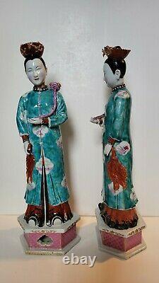 Chinois Exportation De Chinoises Figures De Chaussures, Qing Dynasty, Au Royaume-uni