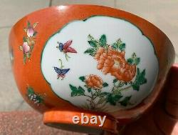 Collection Immobilière Chinese Antique Porcelain Famille Rose Bowl