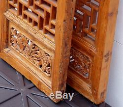 Ecrans De Volets Chinois Antiques
