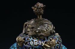 Encensoir Cloisonné Chinois