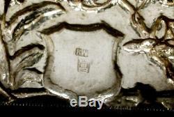 Export Chinois, Boîte Argentée, Design C1890 Kw, Rare