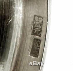 Exportation Chinoise Gobelets En Argent (2) Signé C1890