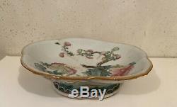 Famille Chinoise Rose Antique Bol En Porcelaine