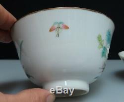 Famille Chinoise Rose Porcelaine Bol De Riz Et Couverture 80421