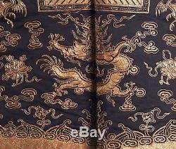 Gilet De Cour Chinois Antique Xiape Lady 5e Rang 19 C