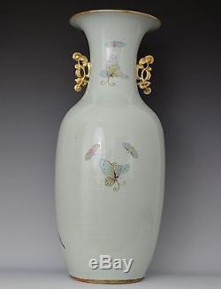 Grand Vase En Porcelaine Chinoise Du Xixe Siècle Six Beautés En Rêve De La Chambre Rouge