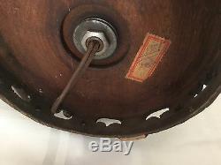 Lampe Vintage En Porcelaine Vase Craquelée Vade Noire