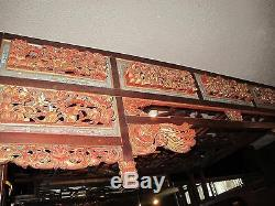 Lit Antique Chinois