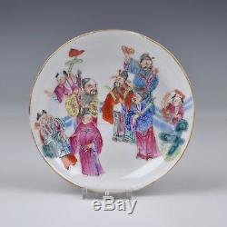 Paire De Porcelaine Chinoise 19ème Siècle Famille Rose