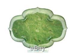 Plat De Provenance En Jade Chinois 19ème Siècle