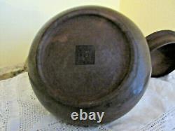 Poignée/bouton Chinois Antique De Laiton De Poterie De Yixing