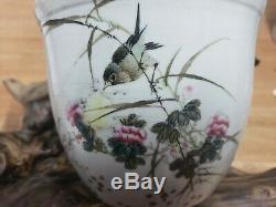 Porcelaine Chinoise Famille Rose Flower Pot