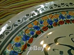 Poterie Rare Antique Ming Porcelaine Chinoise Plate Sultan Islamique Arabe Art Ancien