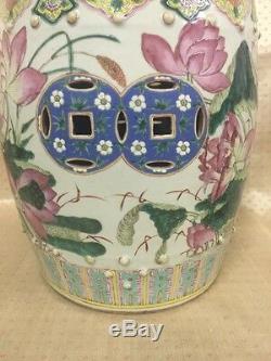 Siège De Jardin En Porcelaine Famille, Chine