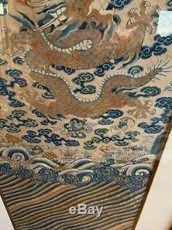 Superbe Antique Broderie Chinoise