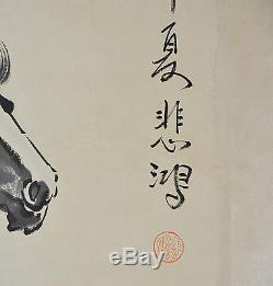 Tableau De Parures De Cheval De Course Chinois
