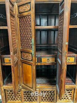 Très Belle Et Grande Cuisine Antique Cabinet Chinois