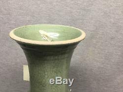 Un Grand Vase Chinois Longquan Yen Yen Dynastie Ming