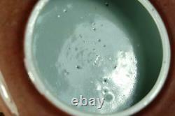 Un Lave-brosse Chinois En Porcelaine Glacée Peachbloom, Marqué