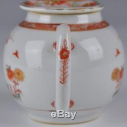 Une Porcelaine Chinoise Parfaite Du Xviiie Siècle Kangxi Famille Verte Théière
